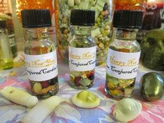 Conjured Cardea: Buy One, Get One on ALL Oils!!! Happy New Year!