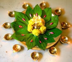 The festival of lights, Diwali 2020 is going to be a boom time. Get Perpetual Wealth Flow, Materialistic Comforts & Triumph from Diwali puja & other rituals. Diwali Diy, Diwali Craft, Diwali Party, Diwali Rangoli, Diwali Pooja, Diwali Decorations At Home, Flower Decorations, Wedding Decorations, Backdrop Decorations