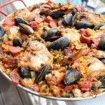 Paella recipe from the Joy of Cooking recipe book is the best ever!