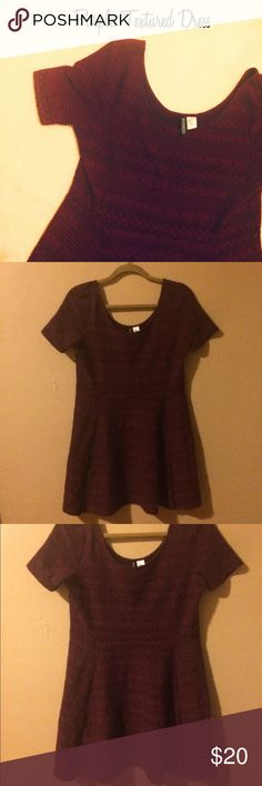 🆕 NWOT H&M Divided Purple Dress - Size L Super cute dress by H&M brand Divided! This would be perfect for a night out, or for the holidays! Nice eggplant purple color - the last photo is closest to the true shade. Size large and fits true to size. Brand new without tags. Dresses