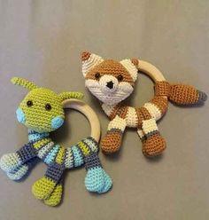 Crochet Amigurumi Baby Toys Yarns 41 Ideas For 2019 Baby Knitting Patterns, Crochet Animal Patterns, Crochet Patterns Amigurumi, Baby Patterns, Crochet Animals, Amigurumi Doll, Crochet Baby Toys, Cute Crochet, Crochet For Kids