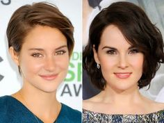 Dois lindos cortes de cabelo curto  #cabeloscurtos #pelocorto #mulheres