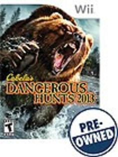 Cabela's Dangerous Hunts 2013 — PRE-Owned - Nintendo Wii
