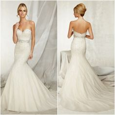 A New Take on the Sweetheart Neckline with Wedding Dresses by Angelina Faccenda