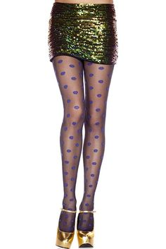 #MusicLegs #StaySexy   https://www.fifty-6.com/en/catalog/clothing/music-legs/hosiery/pantyhose-73 Cod.: ml7295 Pantyhose Spandex sheer pantyhose with contrast polka dots Color: black/blue Sizes: One Size Material: 100% nylon