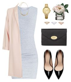 """""""Untitled #1372"""" by susannem ❤ liked on Polyvore featuring James Perse, Topshop, Zara, Mulberry, Oasis and H&M"""