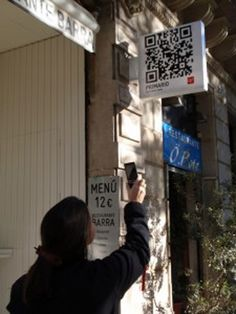 easy way to see the menue in Spain. easy window shopping with QR code I'll be in Spain in Aug. Have to check it out.
