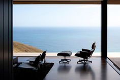 Simplicity and an Eames Lounge Chair.