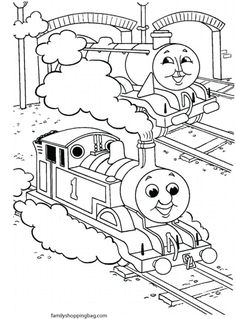 Free Coloring Pages For Kids My Little Train Conductor Familyshoppingbag Img View PrintphpimgColor Page 6 286613
