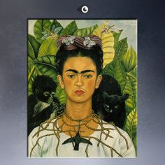 1940 By Frida Kahlo print Wall oil Painting picture print on canvas Poster iconic