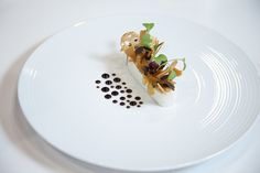 Composed cheese plate by Chef Thomas Raquel on Rene Ozorio #presentation #steelite @N R Show