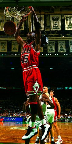 Michael Jordan - the greatest basketball player ever. #23