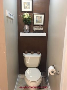 Bathroom Niche: Learn How To Choose And See Ideas With Photos - Home Fashion Trend Half Bath Decor, Half Bathroom Decor, Bathroom Niche, Bathroom Design Small, Bathroom Layout, Bathroom Ideas, Bathroom Plants, Bathroom Furniture, Toilet Room Decor