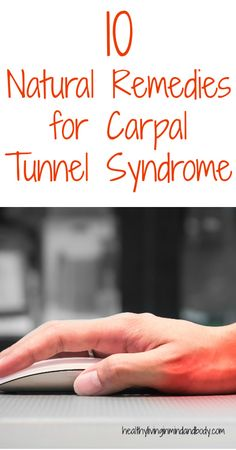 10 Natural Remedies for Carpal Tunnel Syndrome… – Trick to a Gout-Free Life. Health Heal, Home Health, Health And Wellness, Carpal Tunnel Relief, Carpal Tunnel Syndrome, Hand Therapy, Massage Therapy, Healthy Tips, How To Stay Healthy