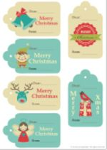 christmas gift tags - Studyladder