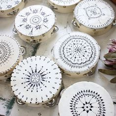 Happy Tuesday 💃 Some more of the hand painted tambourines which were sent out to a magical wedding in Italy Star Wedding, Boho Wedding, Wedding Ceremony, Dream Wedding, Reception, Magical Wedding, Perfect Wedding, Ibiza, Hobby Lobby Furniture