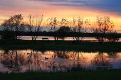 Haunted Lakes Peaceful Sunset