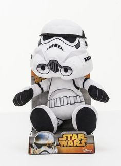 Joy Toy 1400621 25 cm Star Wars Storm Trooper Velboa Samt Plüschtier in Display Harry Potter, Star Wars, Pop Culture, Mickey Mouse, Disney Characters, Fictional Characters, Joy, Alonso, Velvet