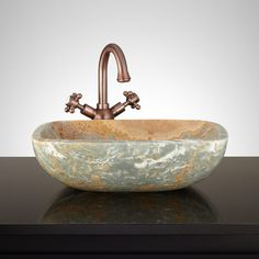 The Lonar Rectangular Blue Onyx Vessel Sink Is The Perfect Piece To Sit  Atop A Stylish Vanity. Upon Purchase, You Will Receive The Sink Shown In The