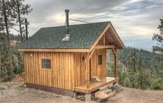 Minimalist Hunting Cabin Designs Hunting Cabin Designs - This Minimalist Hunting Cabin Designs ideas was upload on November, 9 2019 by admin. Here latest Hunting Cabin Designs ideas c. Small Cabin Plans, Small Log Cabin, Tiny Cabins, Tiny House Cabin, Little Cabin, Cabins And Cottages, Cabin Homes, Log Homes, Log Cabins