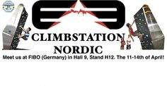 ClimbStation Nordic and the team at FIBO 2013. We will be back for the 2014 show the 3 to 6 of April - FIBO 2014