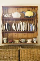 Do It Yourself Kitchen Cabinet Dish Rack