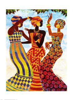 MI BAUL DEL DECOUPAGE: AFRICA.