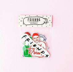 Friends tv serie stickers