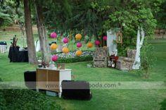 Rincones decoración boda #bodascdb