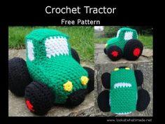 Crochet Tractor Pattern - free