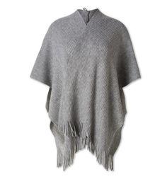 Poncho dans gris