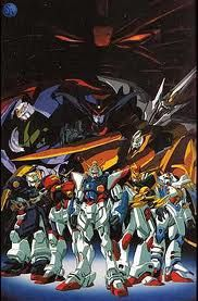 G Gundam (I watched a bit of this)