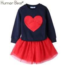 Humor Bear NEW Autumn Baby Girl Clothes Girls Clothing Sets Love Long Sleeve + Skirts Casual Girls Suits Kids Clothing Sets - Kid Shop Global - Kids & Baby Shop Online - baby & kids clothing, toys for baby & kid Oakley, Baby Shop Online, Striped Leggings, Stripe Pants, Casual Skirts, Dress Casual, Matching Family Outfits, Costume, Baby Outfits Newborn