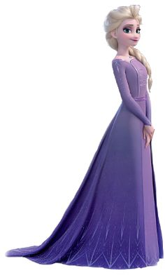 Elsa in her new and beautiful lilac purple dress from Frozen 2 Disney Princess Pictures, Disney Princess Movies, Disney Princess Dresses, Frozen Princess, Princess Art, Disney Movies, Disney Characters, Princesa Disney Frozen, Disney Frozen Elsa