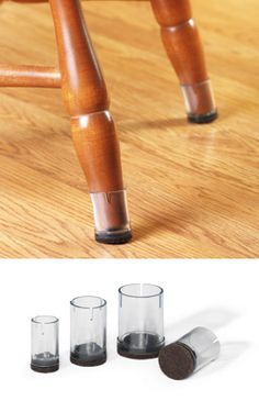 Elegant Chair Leg Cap Floor Protectors Kitchen Chair Pads, Kitchen Chairs, Dining