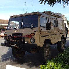 Volvo off road vehicle seen in Santa Cruz