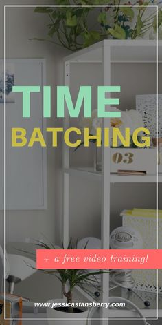 Time batching is a sure-fire way to get more done and really make the most of the hours you have. Batch work with time batching, its the way to go. This productivity tip will maximize your time to grow your business even more! #productivity #productivitytips #timebatching #planner #planning #plannigntips #productive