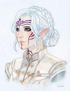 Final Fantasy and Dragon Age Anime Art Fantasy, Fantasy Drawings, Fantasy Kunst, Character Creation, Character Concept, Character Art, Character Ideas, Elfa, Dnd Characters