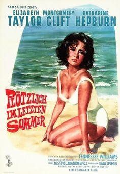 Poster zum Film: Plötzlich im letzten Sommer