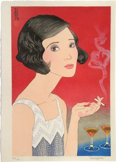 Flowers of a Hundred Years: Modern Girl [of 1920] - Paul Binnie prints https://www.printed-editions.com/art-print/paul-binnie-flowers-of-a-hundred-years-modern-girl-of-1920-71372
