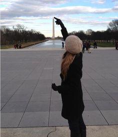 Cool Pic! Heather Ogden in Washington, DC