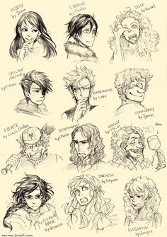 More Heroes of Olympus moods