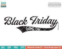 Black Friday SVG Gam