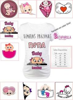 Remeras Embarazada Futura Mama Personalizadas Baby Shower - $ 199,99 Baby Shawer, Belly Painting, Shirt Designs, Children, Boys, Birthday, T Shirt, Tattoos, Father And Son Shirts