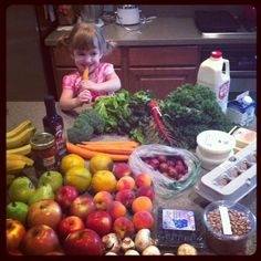 Thank you, Scroggins Family, for sending us this adorable photo of your little sprout and Greenling goodness!