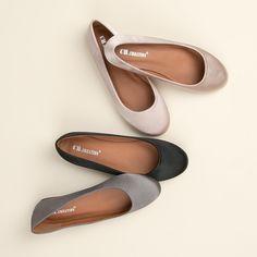 Elegantné saténové balerrínky A525G Chanel Ballet Flats, Shoes, Fashion, Moda, Zapatos, Chanel Ballerina Flats, Shoes Outlet, Fasion, Shoe