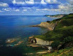 Pais Vasco coast
