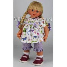 POUPEE MÜLLER WICHTEL HEDWIGE - poupée de collection de Rosemarie Müller