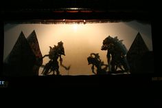 Wayang Kulit, Shadow Puppet Show, Jogjakarta, Indonesia.