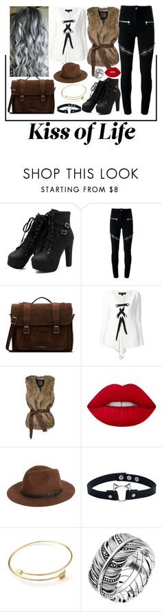 """""""Sweet Dreams"""" by jayrebel ❤ liked on Polyvore featuring Givenchy, Dr. Martens, Proenza Schouler, WithChic, Lime Crime, Sole Society and Thomas Sabo"""